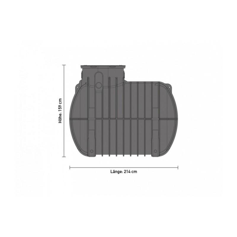 speidel regenwassertank 2000 liter. Black Bedroom Furniture Sets. Home Design Ideas