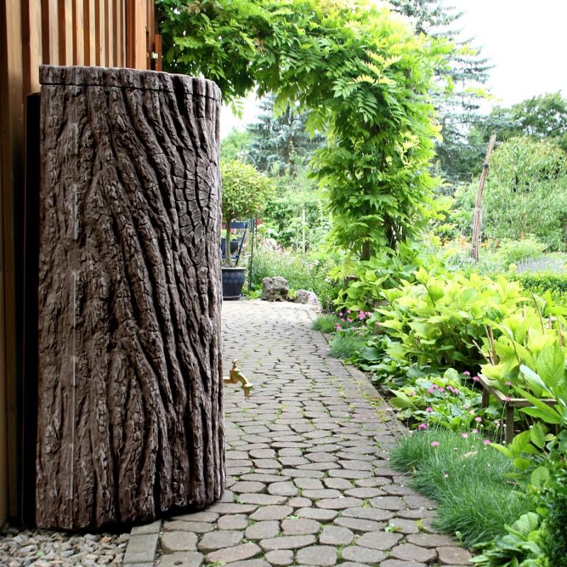 regentonne evergreen 300 liter lite dunkelbraun. Black Bedroom Furniture Sets. Home Design Ideas