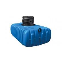 4 rain Regenwasser Flachtank 1500 Liter