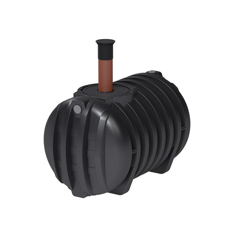 Sehr Roth Abwassertank 3000 Liter mit DIBT Zulassung Schacht DN 200-600 BA24