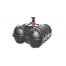 Roth Twinbloc Abwassersammelgrube 9300 Liter Schacht DN 200-600