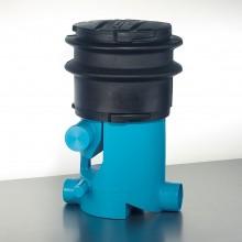 Regenwasserfilter extern Volumenfilter VF1 mit Teleskopverlängerung