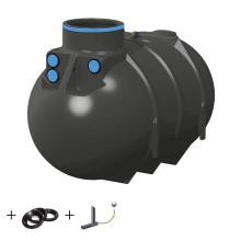 Retentionszisterne BlueLine II 2600 Liter - 10000 Liter inkl. Drossel ab