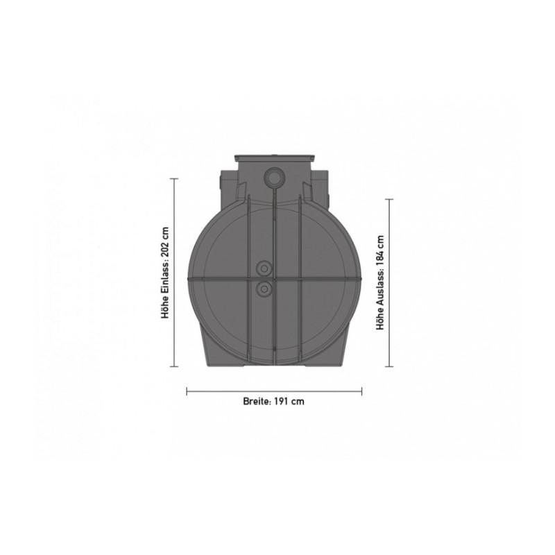 speidel trinkwassertank 5000 liter. Black Bedroom Furniture Sets. Home Design Ideas