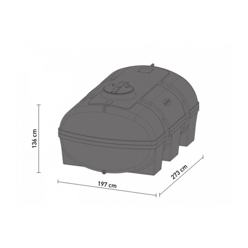 speidel vielzweckfass 5000 liter gr n. Black Bedroom Furniture Sets. Home Design Ideas