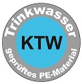 Trinkwassertanks, KTW-zertifiziert